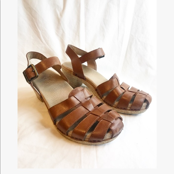 Dansko Milly Woven Leather Clog